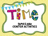 Telling Time Center Activities-Common Core Aligned!
