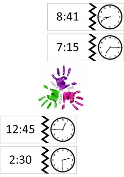 Telling Time Center Activity