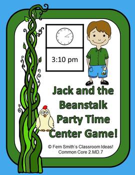 Jack and the Beanstalk's Party Time Center Game