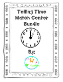 Telling Time Centers Bundle