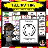 Telling Time Centers and Worksheets