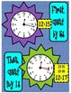Telling Time Charts and Activities