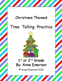 Telling Time: Christmas Themed