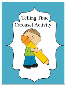 Telling Time Classroom Carousel