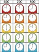 Telling Time Clip Strips (hour, half hour, quarter hour, and nearest 5 mins)