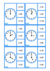 Telling Time Clock Clip Cards BUNDLE, Autism, Life Skills,