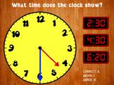 Telling Time - Clock Game (Playable at RoomRecess.com)