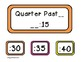 Telling Time Clock Labels