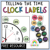 Telling Time Clock Labels (24 Hour Time) Free Download
