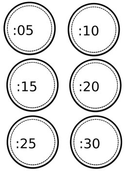 Telling Time- Clock Numbers