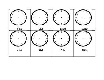 Clock Worksheets