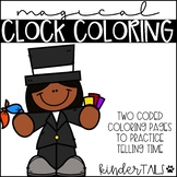 Telling Time Color by Code