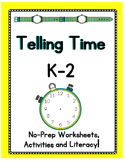Telling Time - Complete Math Unit for Primary