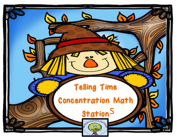 Telling Time Concentration Stations