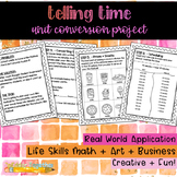 Telling Time: A Unit Conversion Project