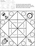 Telling Time Cootie Catcher/Fortune Teller Make your own times!