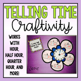 Telling Time Craftivitity (to the hour, half hour, quarter hour)