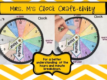 Telling Time Craft-ivity