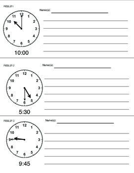 Telling Time: Critical Thinking Problems with Broken Clocks