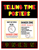 Telling Time - DANGER ZONE - Posters