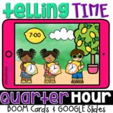 Telling Time Games Digital Clocks & Analog Clocks for GOOGLE™ & BOOM™ Cards
