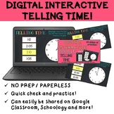 Telling Time Digital Task Cards