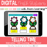 Telling Time Digital Task Cards | Boom Cards™ | Distance Learning