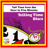TELLING TIME DISCS | Clocks | Color & Practice | Time on Wheels | MATH CORE 1-2