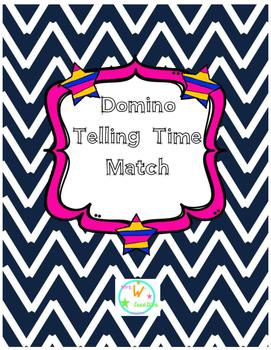 Telling Time Dominoes