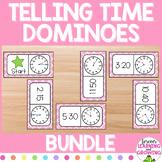 Telling Time Dominoes (Bundle)