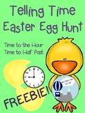 Telling Time Easter Egg Hunt