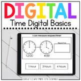 Telling Time + Elapsed Time Digital Basics for Special Ed