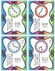 Telling Time & Elapsed Time (Minute Intervals) Task Cards