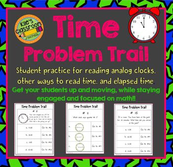 Telling Time, Elasped Time, Analog Clocks, and Reading Tim