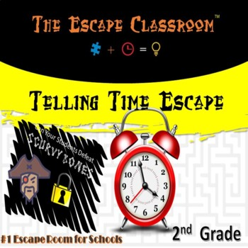 Telling Time Escape Classroom (2nd Grade)