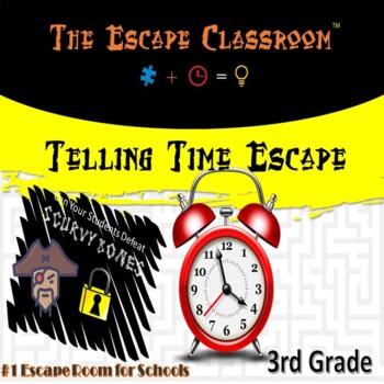 Telling Time Escape Room (3rd Grade) | The Escape Classroom