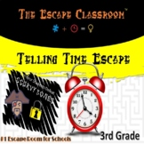 Telling Time Escape Room (3rd Grade) | The Escape Classroom