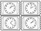 Telling Time Exit Tickets TEKS:2.9G
