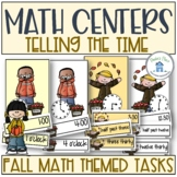 Telling Time Fall Theme
