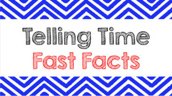 Telling Time Fast Facts