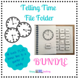 Telling Time File Folder Bundle