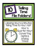 Telling Time File Folder Pack!