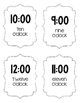 Telling Time Flashcards