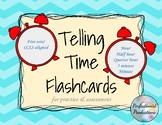 Telling Time Flashcards Unit Set for Hour, Half, Quarter, 5 & Minute