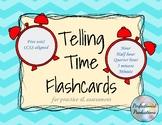 Telling Time Flashcards Unit Set for Hour, Half, Quarter,