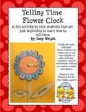 Telling Time Flower Clock