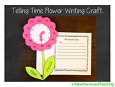 Telling Time Flower Craftivity