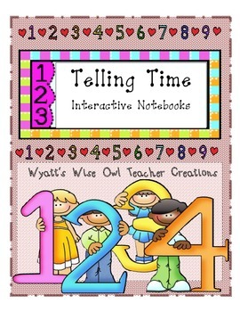 Telling Time Interactive Notebooks