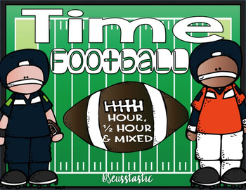 Telling Time Football (Easy)