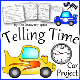 Telling Time Activity Math Project Interactive Real World